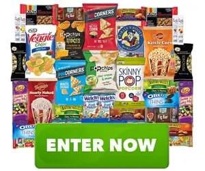 SkinnyPop Back-to-School Healthy Snacks Care Package Sweepstakes