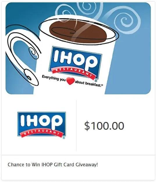 IHOP Season's Greenings Gift Card Giveaway