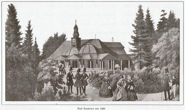 Kudowa Zdrój rok 1800