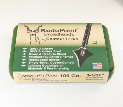 KP Contour Plus 100 grain broadhead