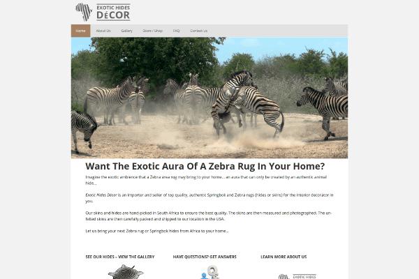 portfolio - exotic hides decor