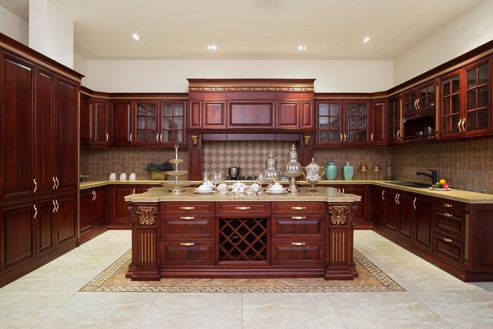 rustikale kücheninsel  die moderne küche einrichten  20