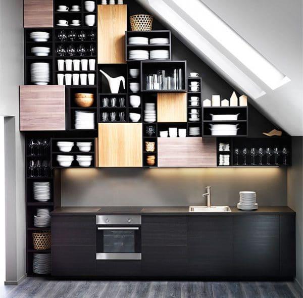 Ikea Küchen Dachschräge   Küche Planen: Ideen & Tipps Für ...