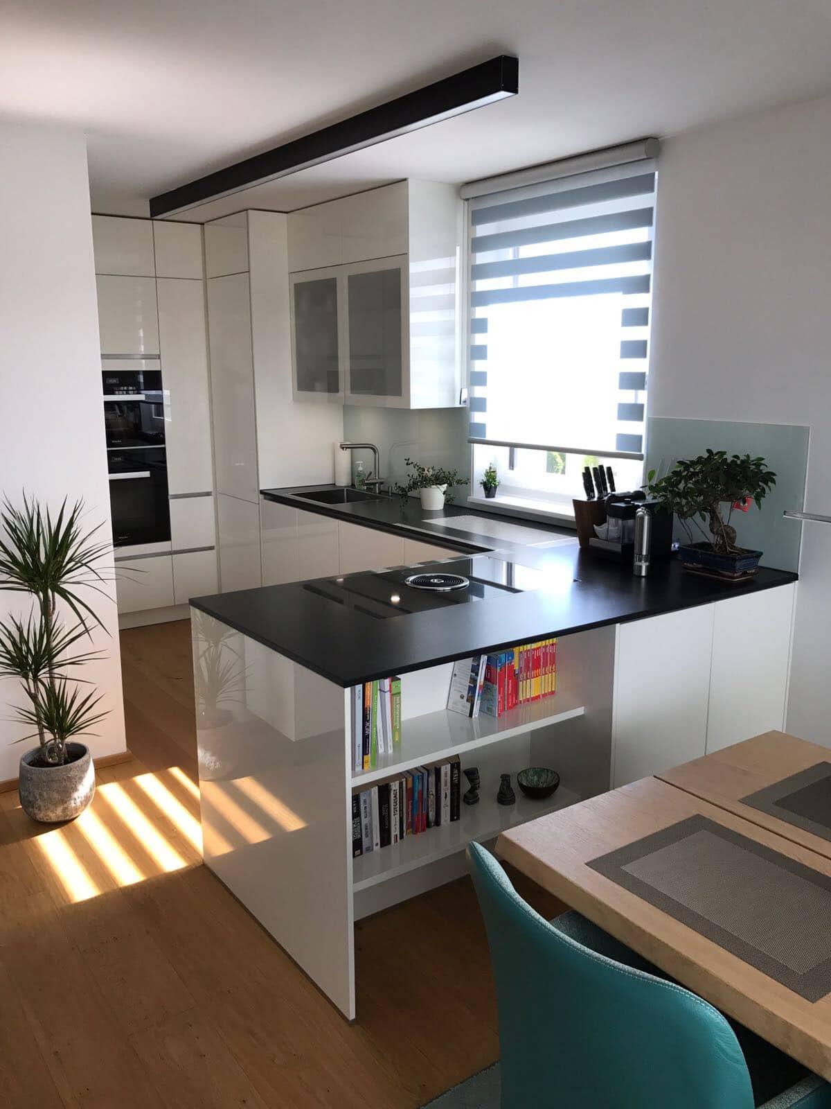 Weiße Küche Welche Arbeitsplatte  Magnolie Küche Welche
