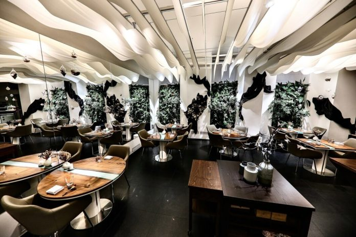 Restaurants in the Czech Republic: wild plants and classy interiors at LEVITATE.  (Photo: LEVITATE)