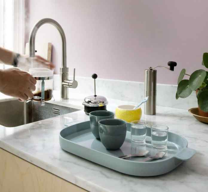 The Quooker and Quooker Fusion are already an integral part of many kitchen rooms: they supply boiling hot water as well as normal hot and cold water directly from a tap.  (Photo: Quooker)