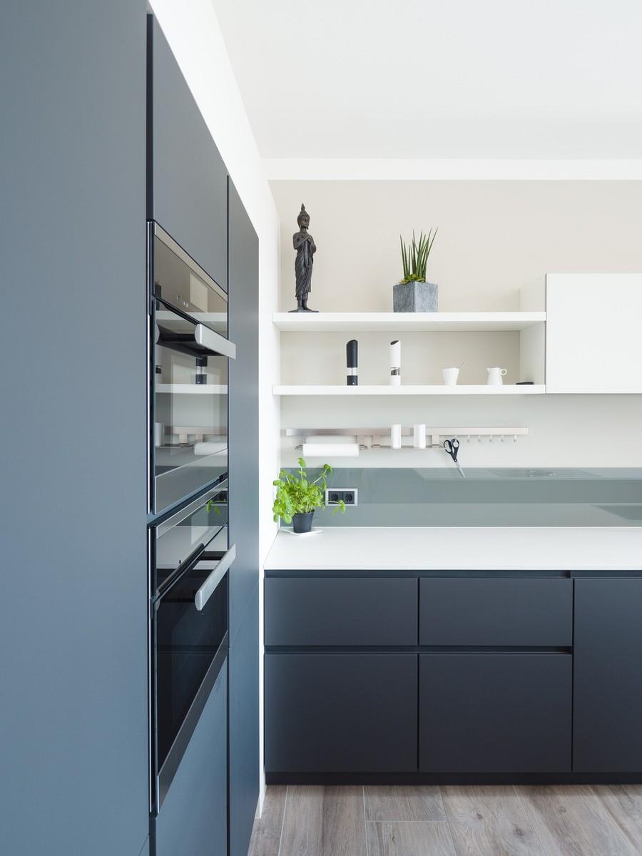 Arbeitsplatte Küche Beton Weiß