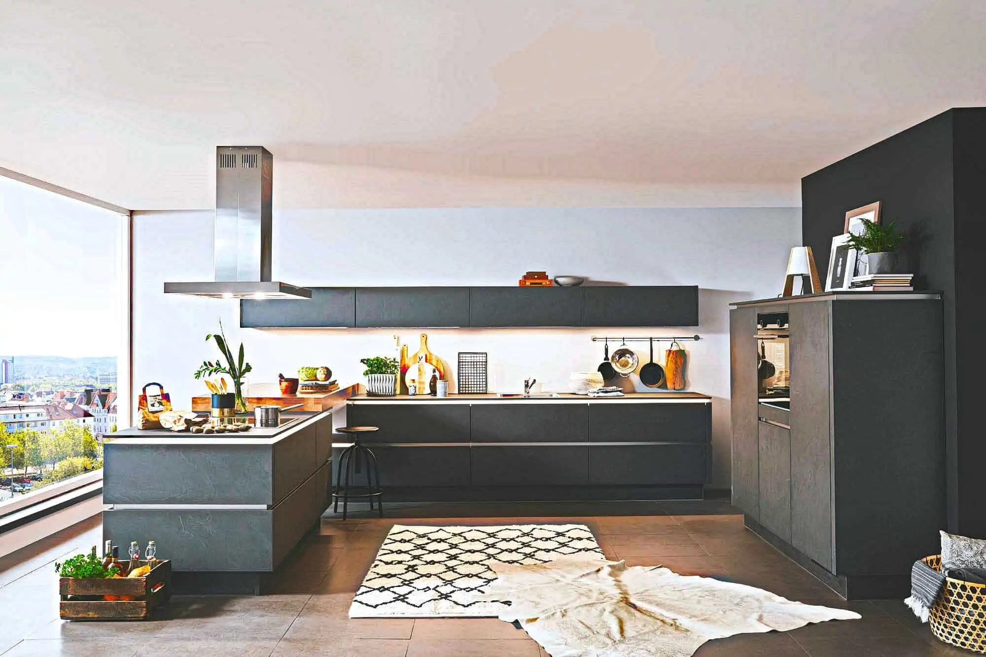 Ikea Musterküchen | Nobilia Küchen Eiche Seidengrau ...