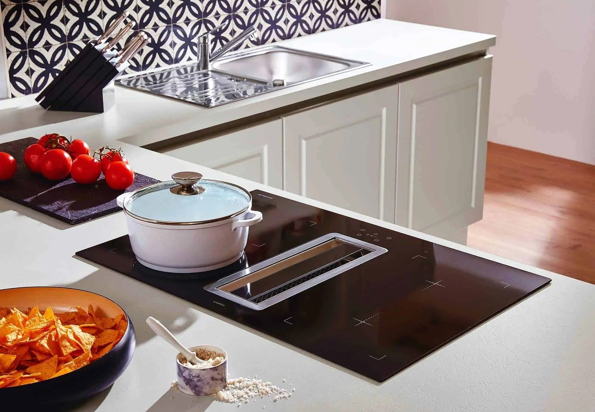 Ikea Küche Designer Fronten   Nolte L Küche Quarzgrau ...