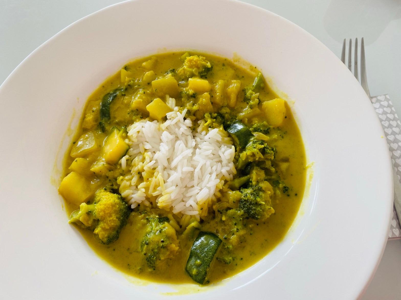 Kartoffel Curry