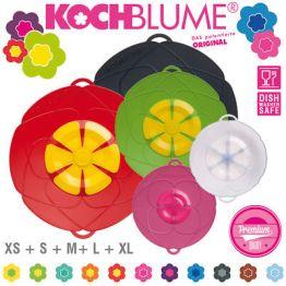 Kochblume - Set - Überkochschutz - XS + S + M + L + XL