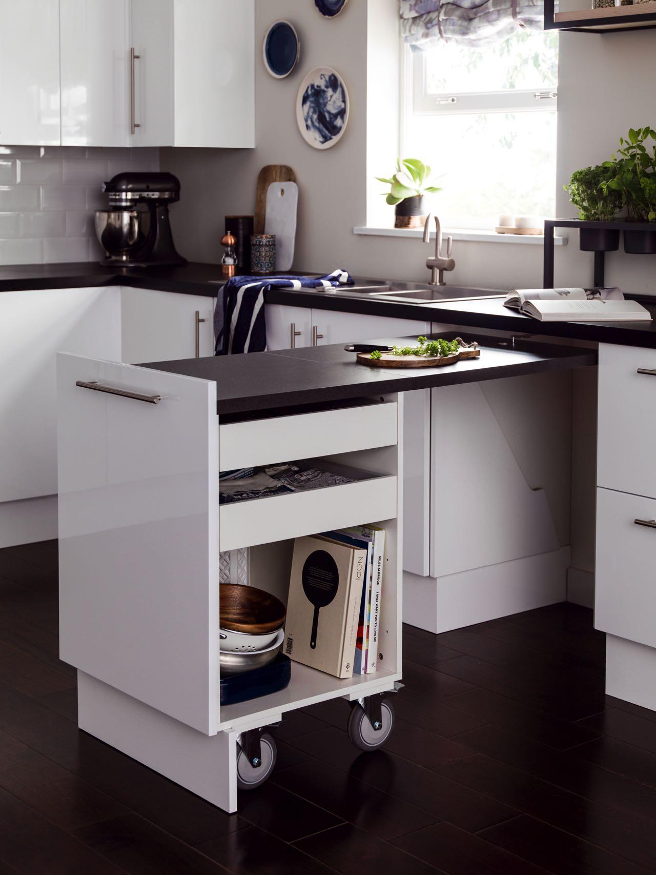 Klapptisch Für Kleine Küchen  Küchen Einrichten - So Kann Man