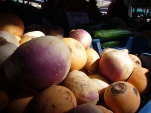 teltower rübchen auf dem markt