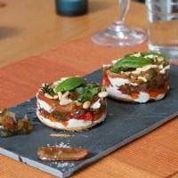Rezept: Tomatentörtchen (Vorspeise)