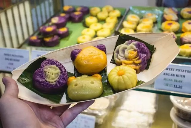 Discover SG: These Exotic Ang Ku Kuehs Are On A Kueh-st To Consquer Your 'grams And Tastebuds