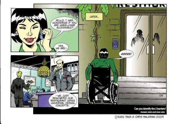 comic universal design