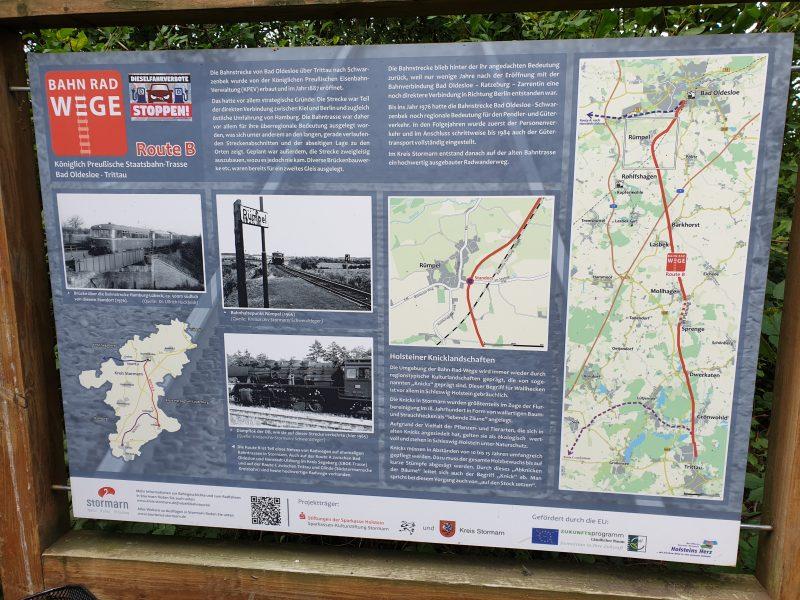 Bahnradweg Stormarn