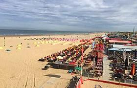Strand und Boulevard