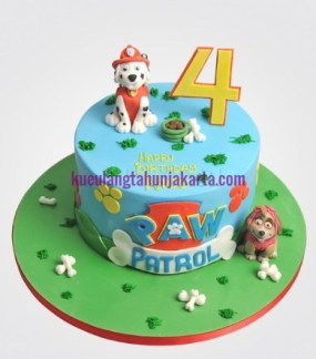 paw patrol birthday cake jakarta