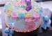 kue ulang tahun little pony butter cream