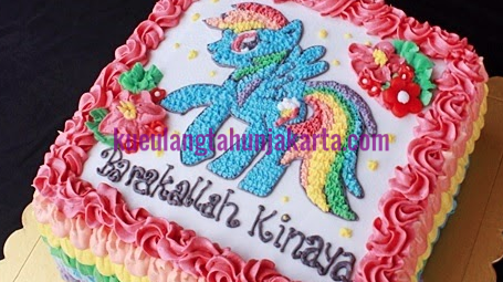 cake ultah little pony