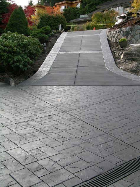 exposed concrete plasa