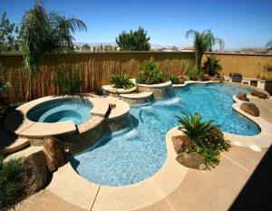 kolam renang clasic bergaya eropa