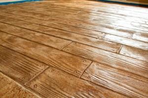 pattern concret wood Strip Concrete