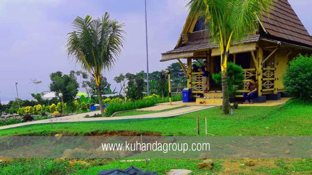 Pembuatan Kolam Renang Villa King Bogor