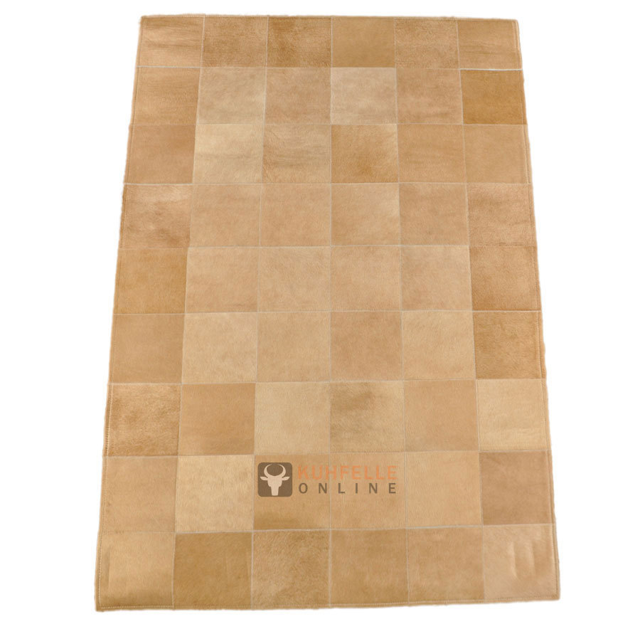 Kuhfell Teppich Beige Exklusiver Kuhfell Teppich Beige 180 X 120 Cm Bei Kuhfelle Online