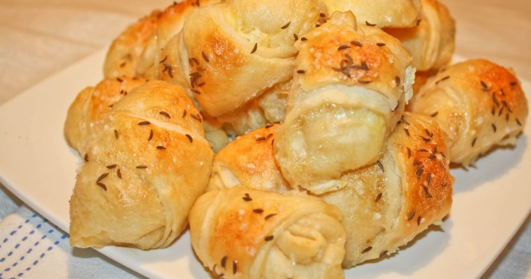 Kuvarijacije – Nana Anine kiflice sa sirom