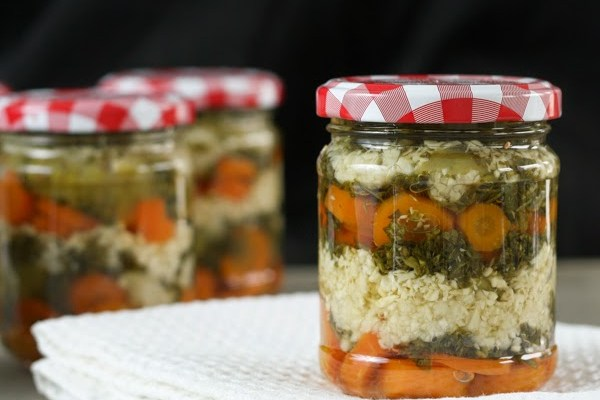 Ljuta šargarepa / Spicy preserved carrot