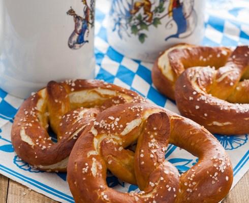 Bavarske perece / Bavarian pretzels