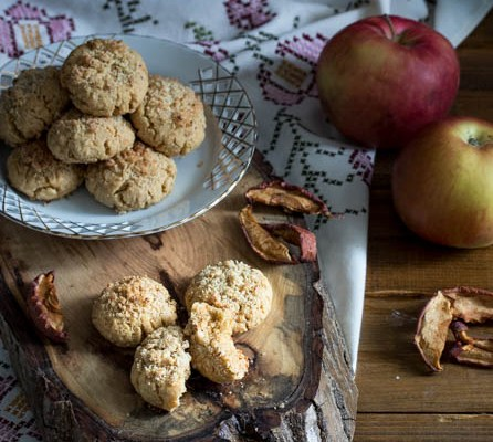 Keks sa suvim jabukama / Biscuits with dried apples