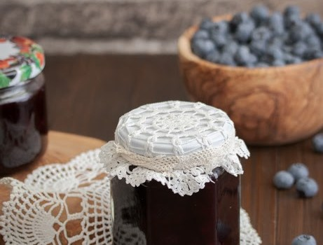 Džem od borovnice / Blueberries jam