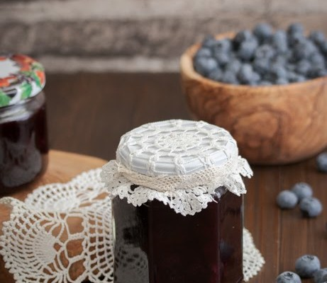 Džem od borovnice / Blueberries jam