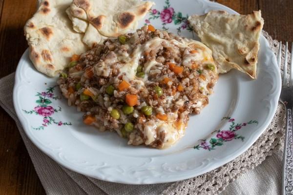 Varivo sa mlevenim mesom / Minced meat stew