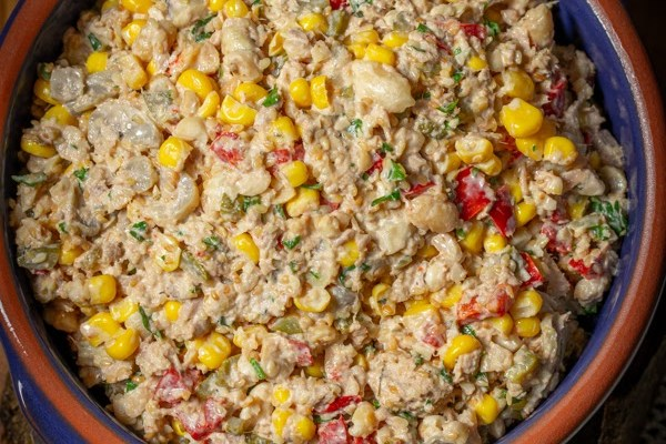 Posna ruska salata / Vegan salad Olivier