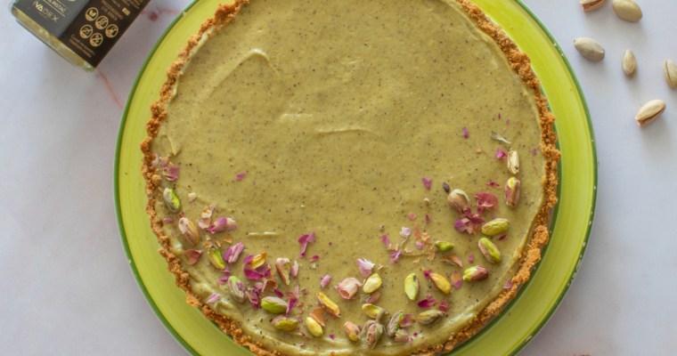 Tart sa puterom od pistaća