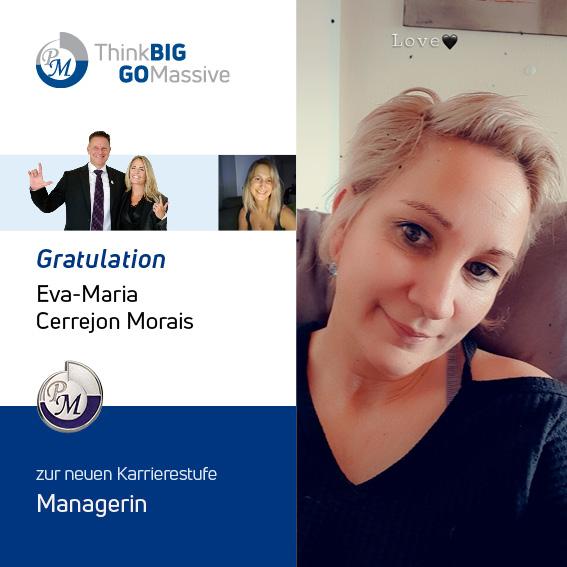 PM-International Congratulation Eva-Maria Cerrejon Morais Manager(6)