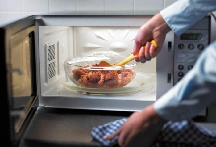 Микроволновая печь с эмалированным покрытием камеры