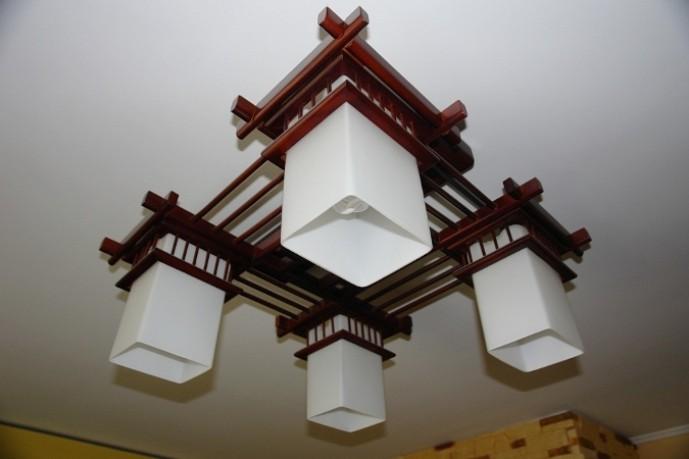 Люстра в китайском стиле
