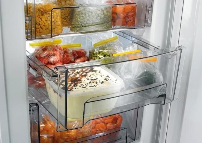 Ящики в морозильной камере