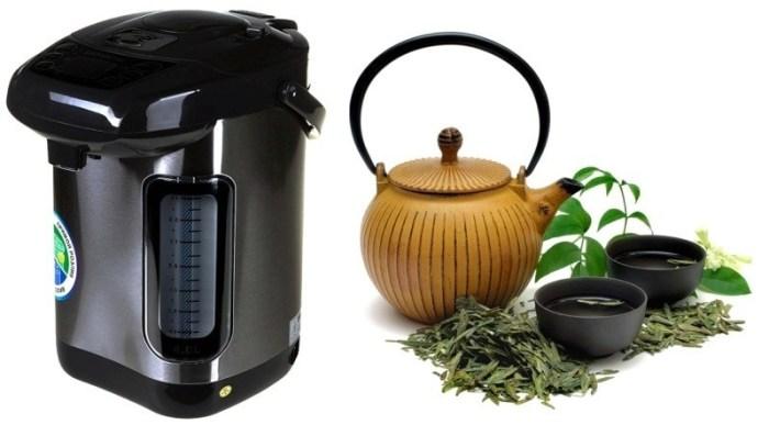 Термопот и чай