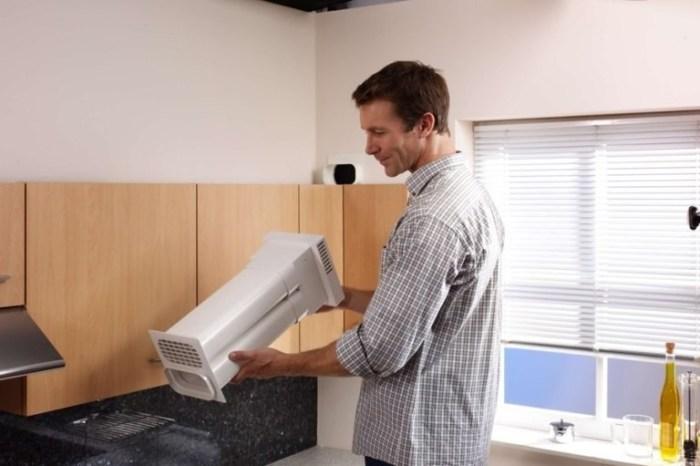 Вентилятор кухонный