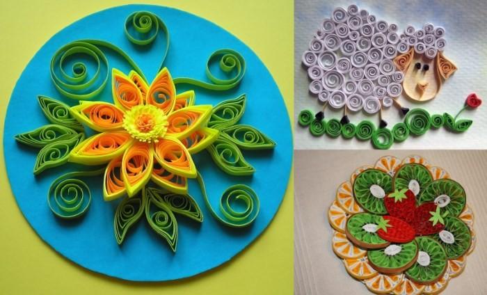 dekorirovanie-kvilling Декоративные тарелки своими руками в технике декупаж и квиллинг