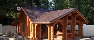Специфика проектирования летних кухонь, совмещенных с баней