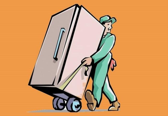 Вывоз старого холодильника