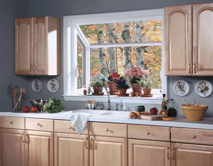 Новое окно на кухне