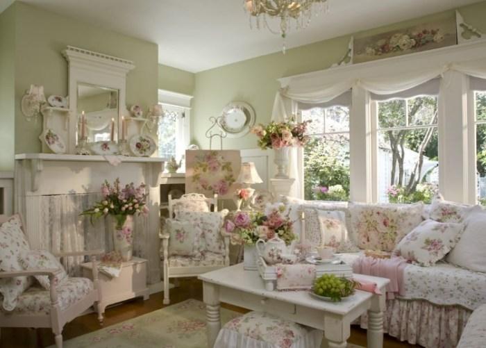 Кресла и диван в стиле прованс